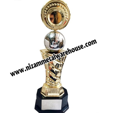 nizam metal GOLD PLATED TROPHIES